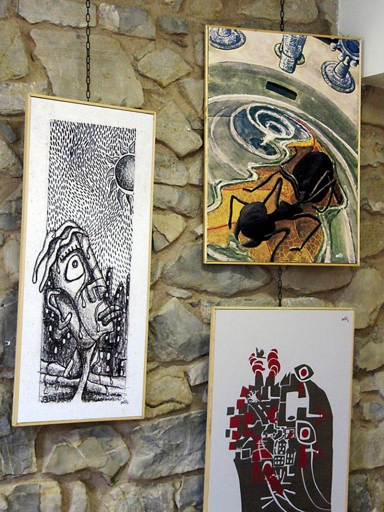 wentxi erakusketa exposicion marrazkiak drawings