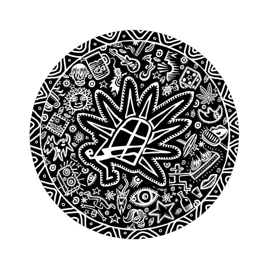 ganbara kartela zirrimarra illustration affiche