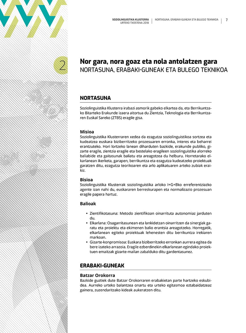 zirrimarra euskara design graphique Basque txostena aldizkaria