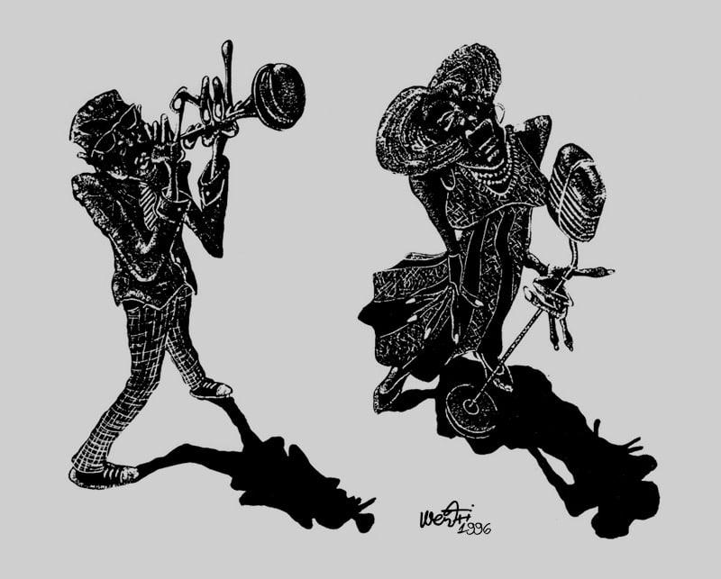 dibujo jazz directo